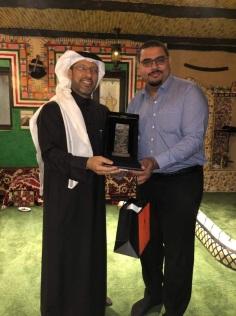 Farewell Picture with VP of KIA Motors, Kingdom of Saudi Arabia